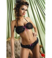 Pin-Up / Lingerie Royal Set Black