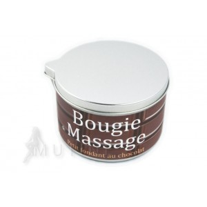 Bougie de Massage Chocolat Fondant