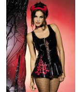 Pin-Up / Lingerie Costume Devil Dress